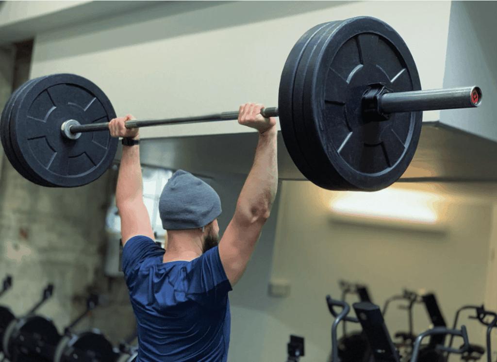 fitness gewichtheffen